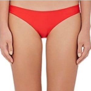 Mikoh  Swimwear Women's Red bikini Bottom Sz M